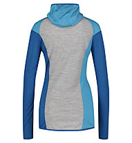 Meru Sortland L/S - Kapuzenpullover - Damen, Blue/Grey
