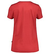 Meru Stathelle W Merino S/S - T-shirt - Damen, Red