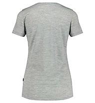 Meru Stathelle W Merino S/S - T-shirt - Damen, Grey