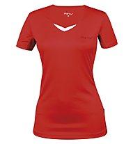 Meru Sudbury T-Shirt Frau, Coral