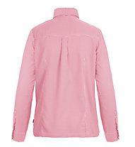 Meru Sunnyvale II - Wanderbluse Langarm - Damen, Pink