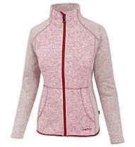 Meru Täby - Fleecejacke Wandern - Damen, Red