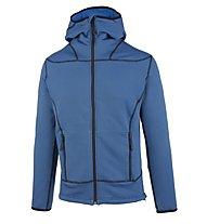 Meru Tallinn - giacca in pile con cappuccio trekking - uomo, Blue