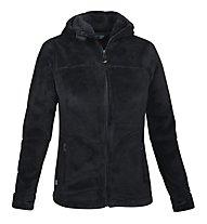 Meru Teddy Nunavut giacca pile donna, Black