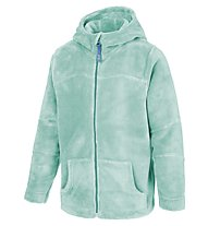 Meru Teddy Paddington Kinder Fleecejacke mit Kapuze, Mint