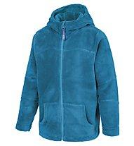 Meru Teddy Paddington giacca in pile bambino, Blue Mykonos