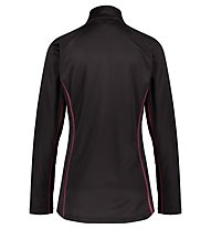 Meru Tirau Half-Zip W - pullover in pile - donna, Black
