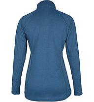 Meru Tirau Half-Zip W - pullover in pile - donna, Blue