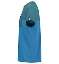 Meru Trikala Jersey - T-Shirt escursionismo - uomo, Green/Blue