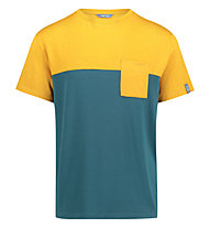 Meru Trikala Jersey - T-Shirt escursionismo - uomo, Yellow/Green