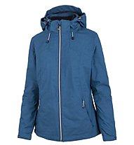 Meru Trolhättan - giacca con cappuccio trekking - donna, Light Blue