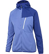Meru Tuke - Fleecejacke mit Kapuze Wandern - Damen, Light Blue