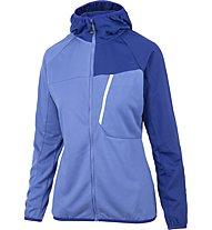 Meru Tuke Hoody Fleece - giacca in pile - donna, Light Blue