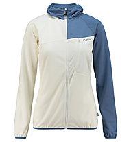 Meru Tuke Hoody Fleece - giacca in pile - donna, White/Blue