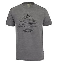 Meru Tumba Männer T-Shirt kurzarm, Grey