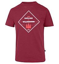 Meru Tumba - T-shirt trekking - uomo, Red