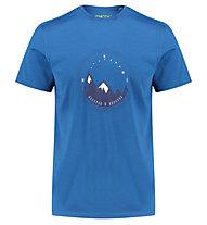 Meru Tumba Wool - T-Shirt Wandern - Herren, Blue