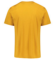 Meru Tumba Wool - T-Shirt escursionismo - uomo, Yellow