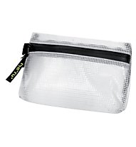 Meru Utility Bag - busta con zip, Transparent