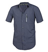 Meru Vigo - Herrenhemd Kurzarm, Blue