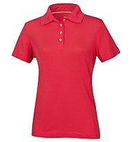 Meru Wembley 13 Polo polo trekking Donna, Red