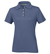 Meru Wembley 13 Polo polo trekking Donna, Blue