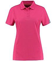 Meru Wembley Functional S/S - polo trekking - donna, Pink