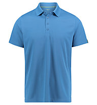 Meru Wembley functional S/S - polo sport di montagna - uomo, Light Blue