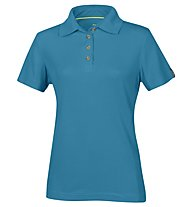 Meru Wembley - polo trekking - donna, Blue