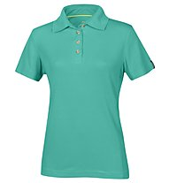 Meru Wembley - polo trekking - donna, Green
