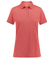Meru Wembley - polo sport di montagna - donna, Red