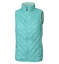 Meru White Rock Vest Woman - Damen Weste, Water Blue