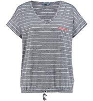 Meru Windhoek Drirelease S/S - t-shirt trekking - donna, Grey/White