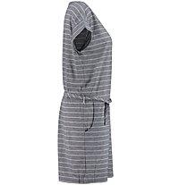 Meru Windhoek Drirelease S/S - Kleid - Damen, Grey/White