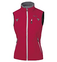 Meru Women+S-Softshell Vest Damen Softshellweste, Red