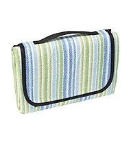 Meru Woodstock Picnic Blanket, Blue Striped