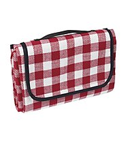 Meru Woodstock Picnic Blanket, Red Checked