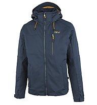 Meru Ystad - giacca softshell trekking - uomo, Blue