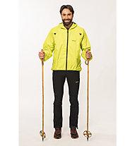 Meru Zenith 16 - Giacca antipioggia trekking - uomo, Lime Punch