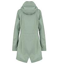 Meru Ziros - giacca con cappuccio - donna, Green