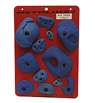 Metolius Klettergriffe Bouldering Set 12 Pack, Blue