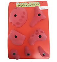 Metolius PU All American Super 7 Set - Set Klettergriffe, Red