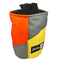 Metolius Yosemite Jester - chalk bag, Orange/Grey/Yellow