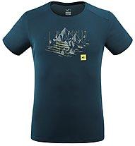 Millet Black Mountain - T-shirt alpinismo - uomo, Blue