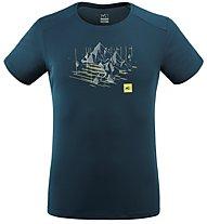 Millet Black Mountain - T-Shirt - Herren, Blue