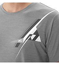 Millet Cloud Peak Wool Ts - Wander T-Shirt - Herren, Grey