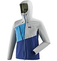 Millet Elevation Cordura - Softshelljacke Bergsport - Herren, Grey/Blue
