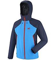Millet Fitz Roy 2,5L II - giacca hardshell - uomo, Blue