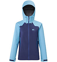 Millet Fundy GTX 3LJ - Hardshelljacke - Damen, Blue/Light Blue
