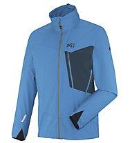 Millet Grepon WDS Light - Giacca con cappuccio trekking - uomo, Light Blue